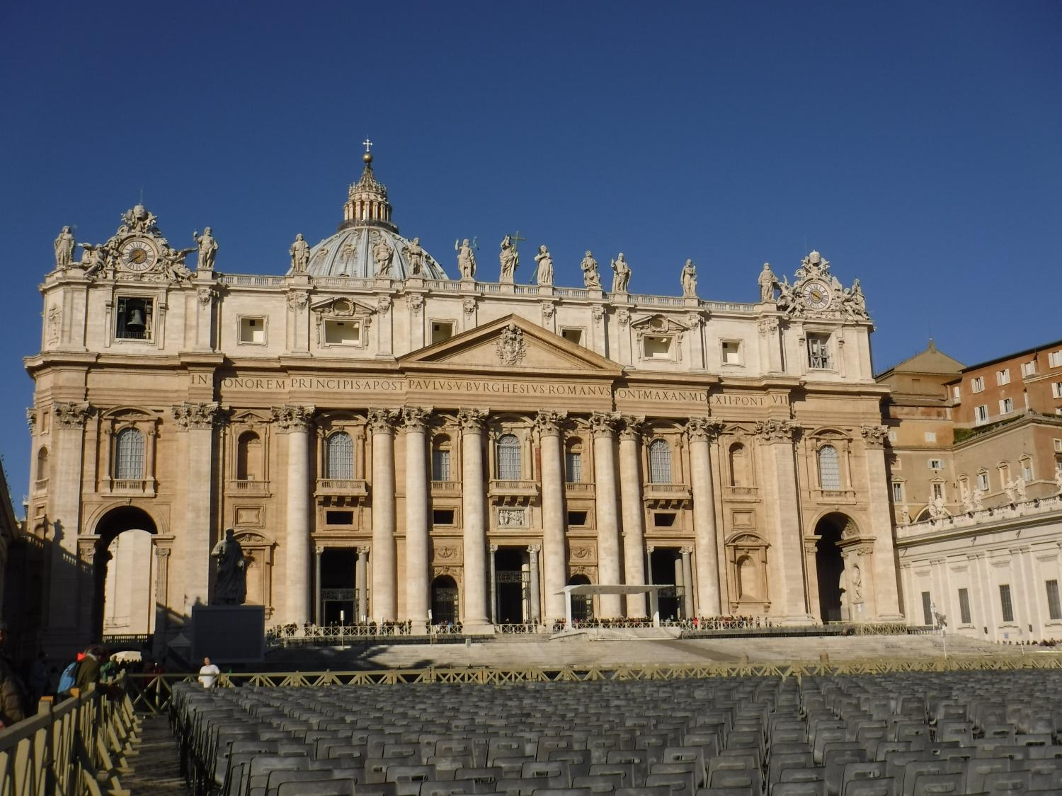The Vatican in Rome Italy.